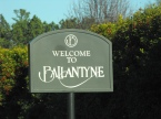 Ballantyne Welcome Sign